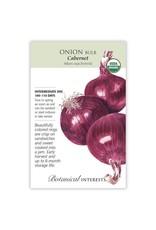 Seeds - Onion Bulb Red Cabarnet Hybrid (ID) Organic
