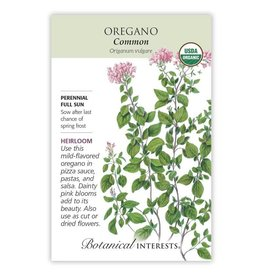 Seeds - Oregano Common Organic