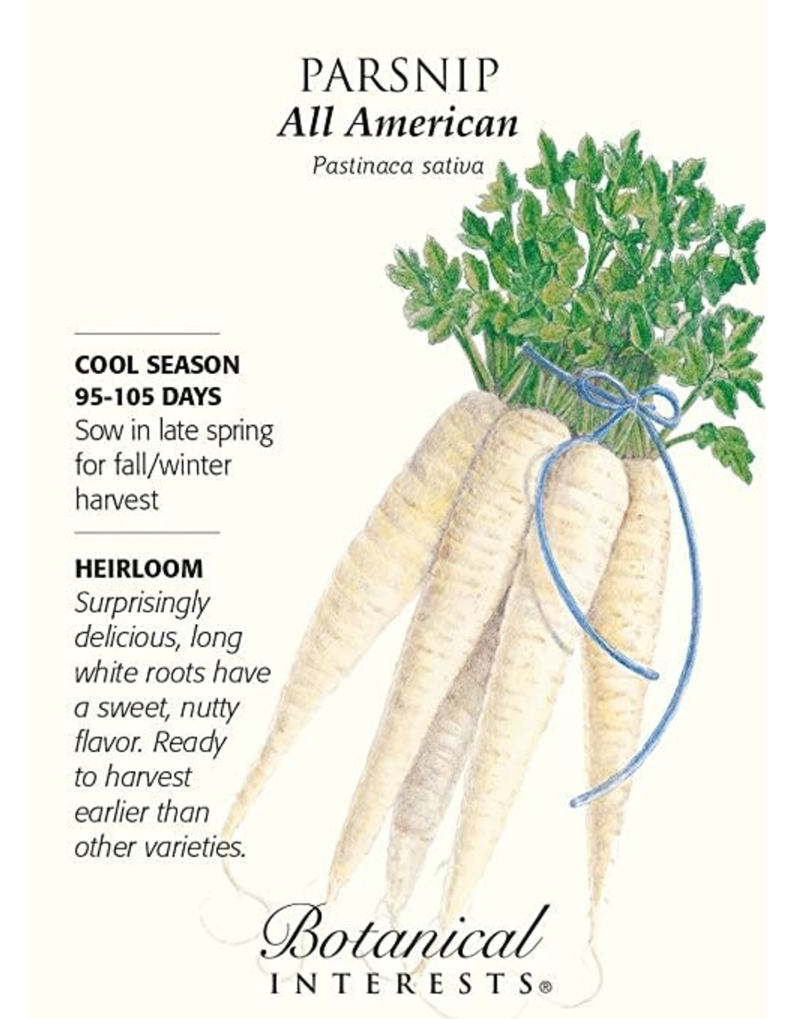 Seeds - Parsnip All American