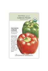 Seeds - Pepper Sweet, Red / Green Bell Pepper, California Wonder, Organic