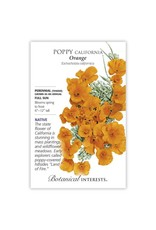 Seeds - Poppy California Orange, Large