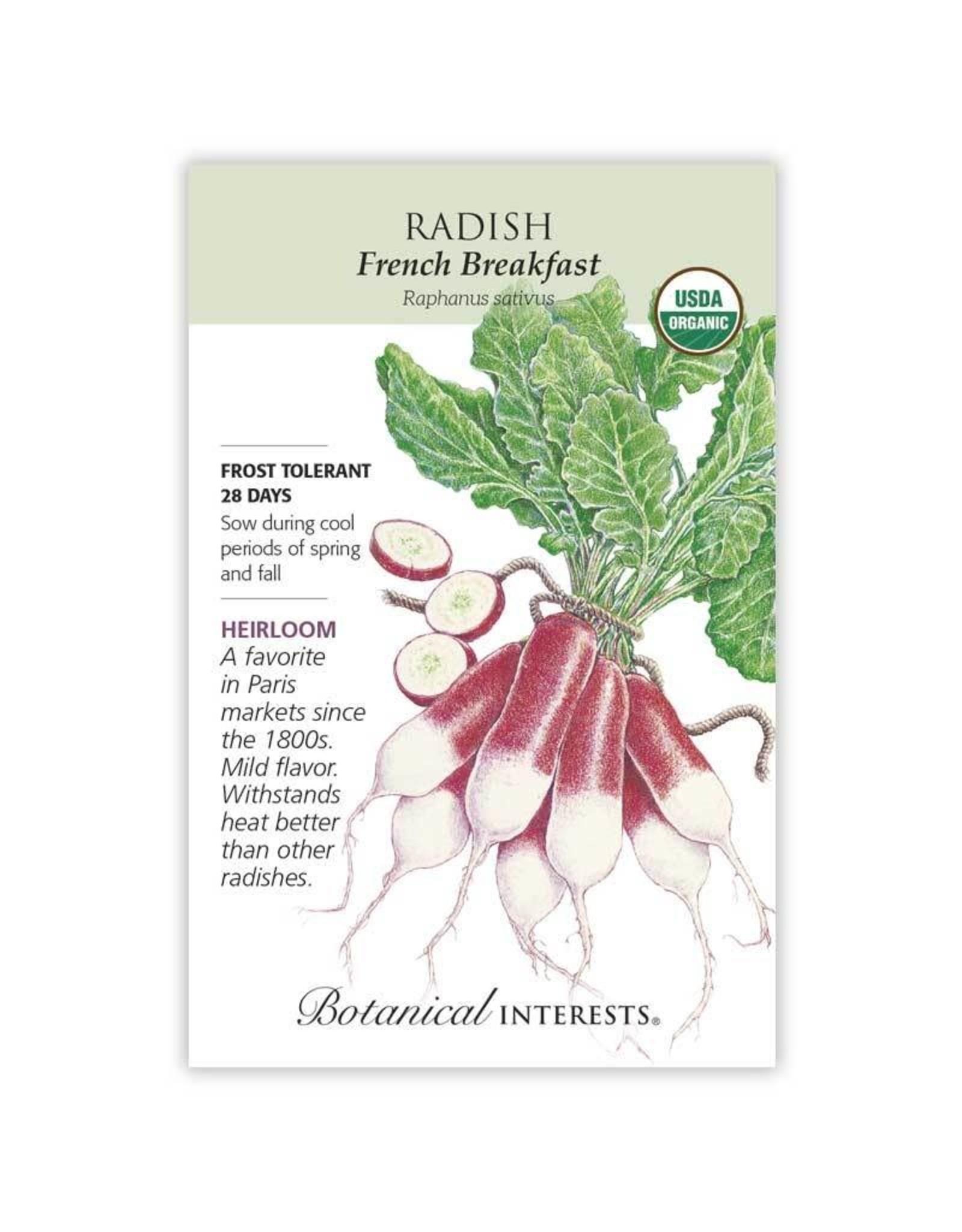 Seeds - Radish French Breakfast Org