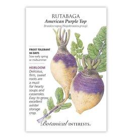 Seeds - Rutabaga American Purple Top