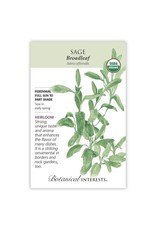 Seeds - Sage Broadleaf Organic