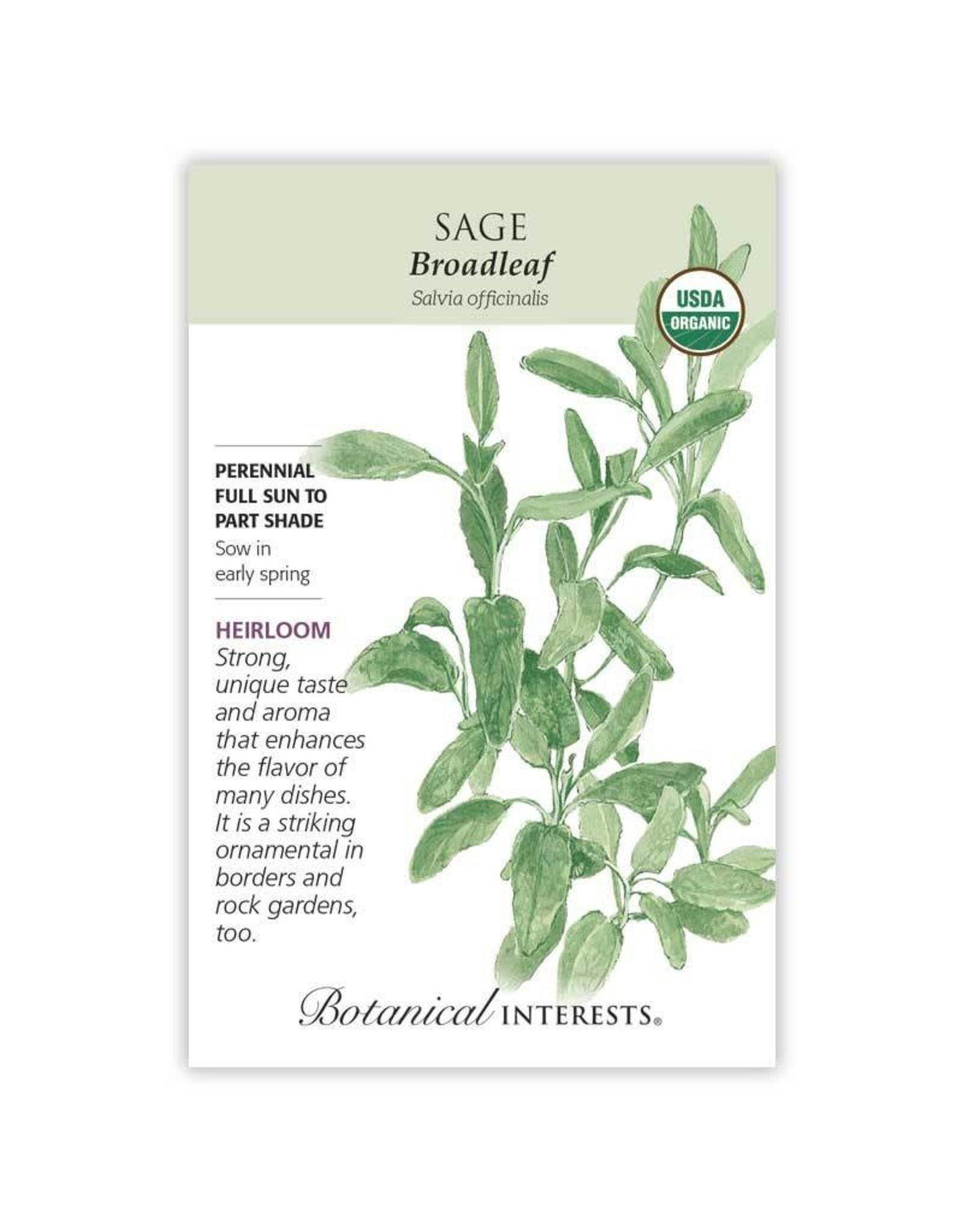 Seeds - Sage Broadleaf Org