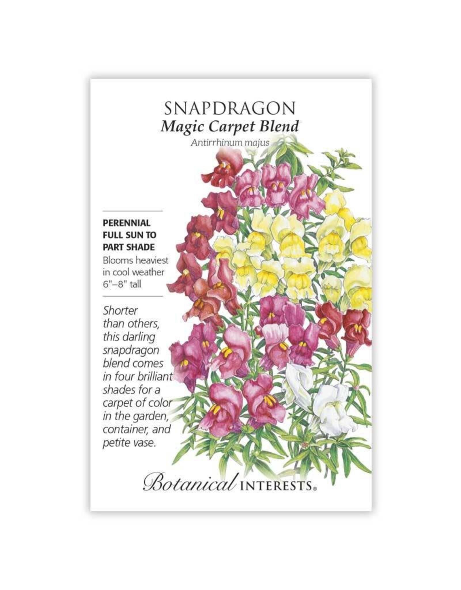 Seeds - Snapdragon Magic Carpet Blend