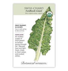 Seeds - Swiss Chard Fordhook Giant Organic