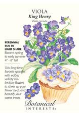 Seeds - Viola King Henry