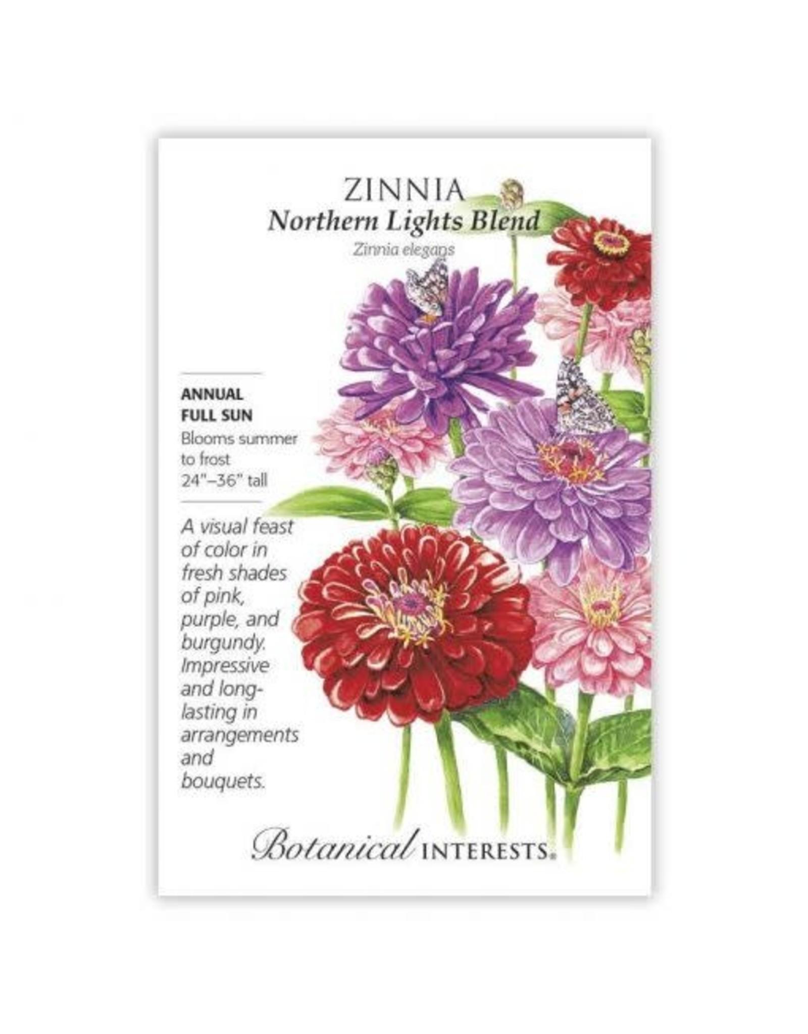 Seeds - Zinnia Northern Lights Blend