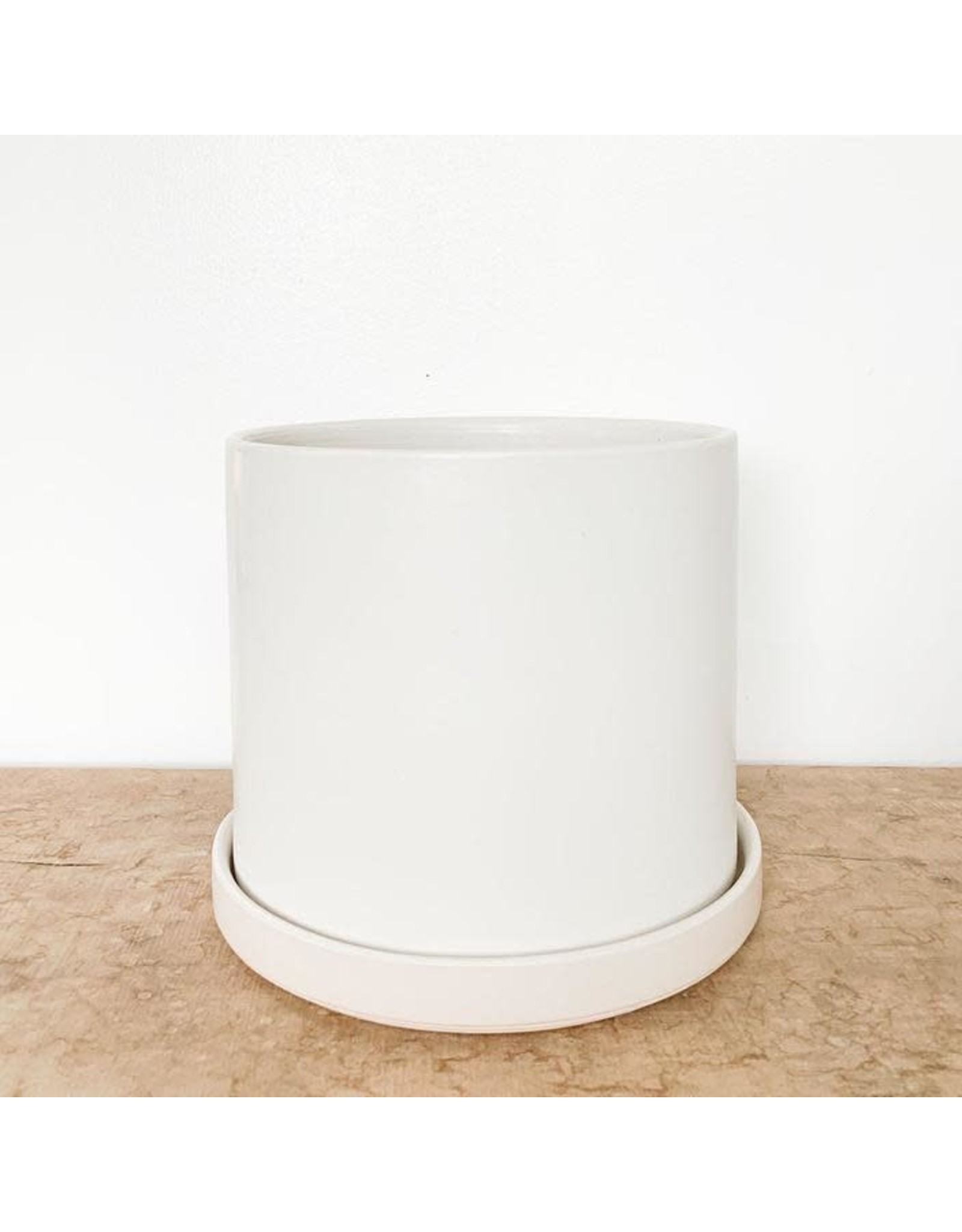 "12"" White Drip Tray"