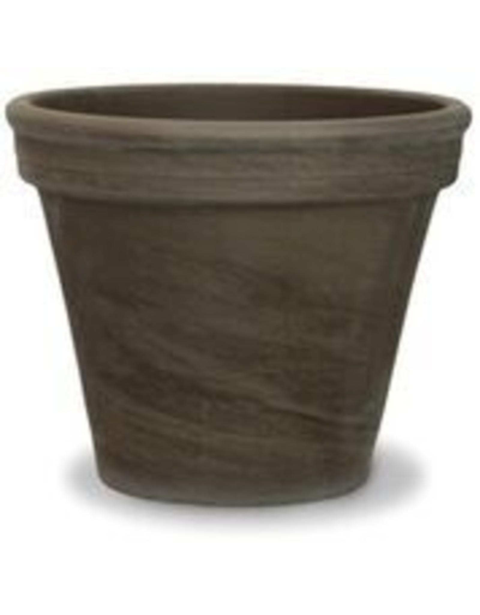 Terra Cotta Pot - Gray Clay