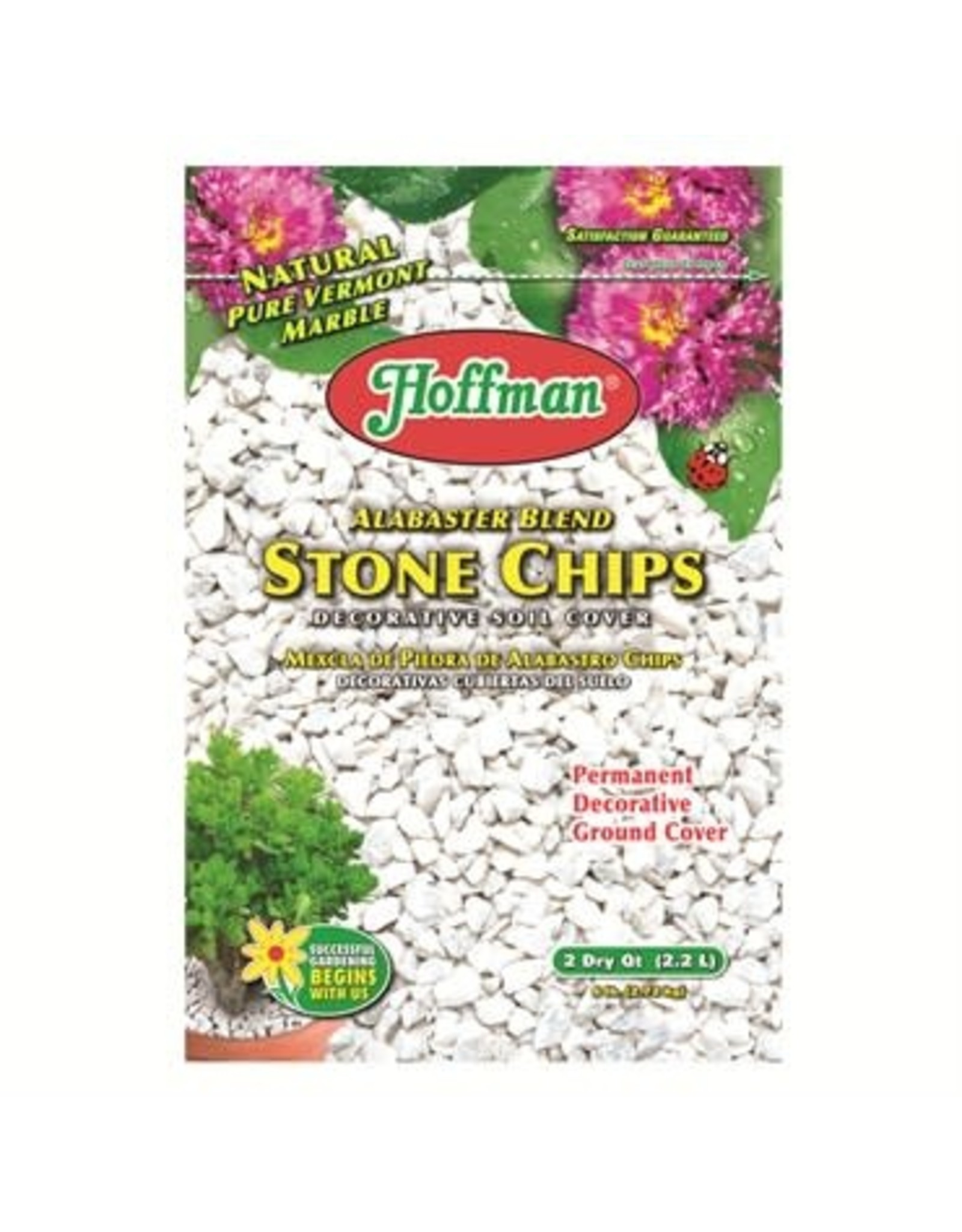 Alabaster Blend Stone Chips - 2 Quart