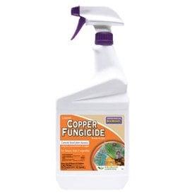 Liquid Copper Fungicide - Ready to Use Spray Bottle - Quart