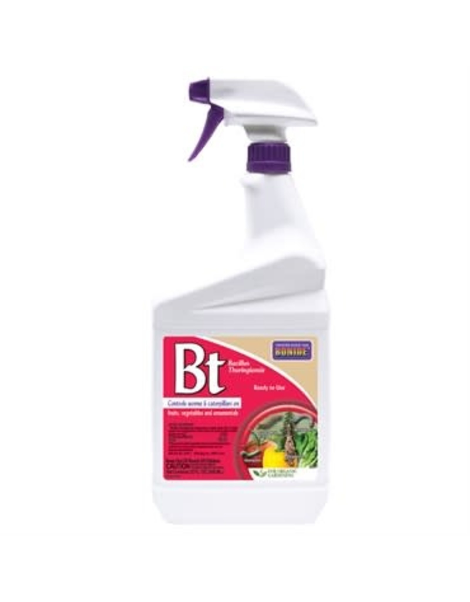 BT Thuricide - Ready to Use Spray Bottle - Quart