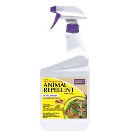 Hot Pepper Animal Repellent - Ready to Use Spray Bottle - 32oz