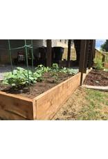Cedar Raised Bed & Soil with Installation - 4x8