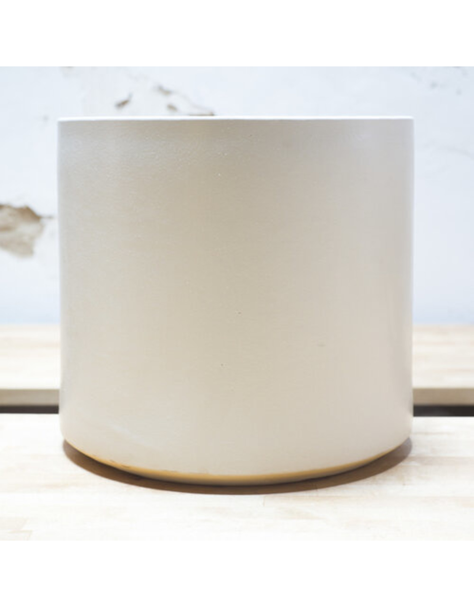 Cylinder Planter - White