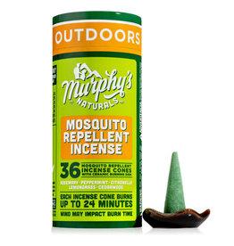 Murphy's Mosquito Incense Cones + Burner
