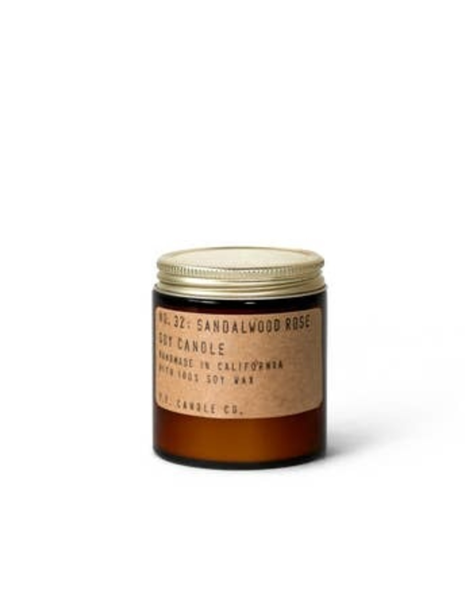 P.F. Candle Co. 3.5 oz Soy Candle - Sandlewood Rose