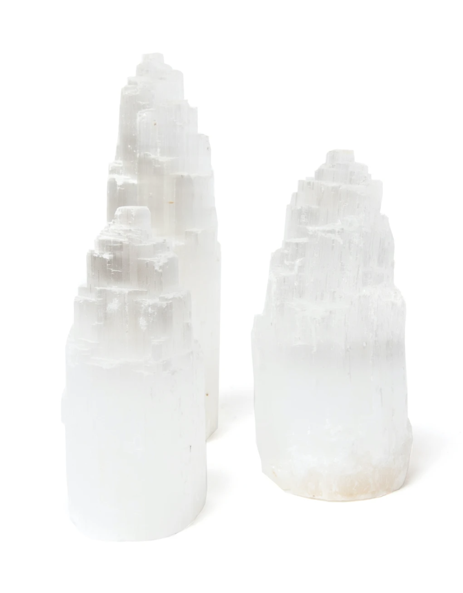"4"" Selenite Tower"
