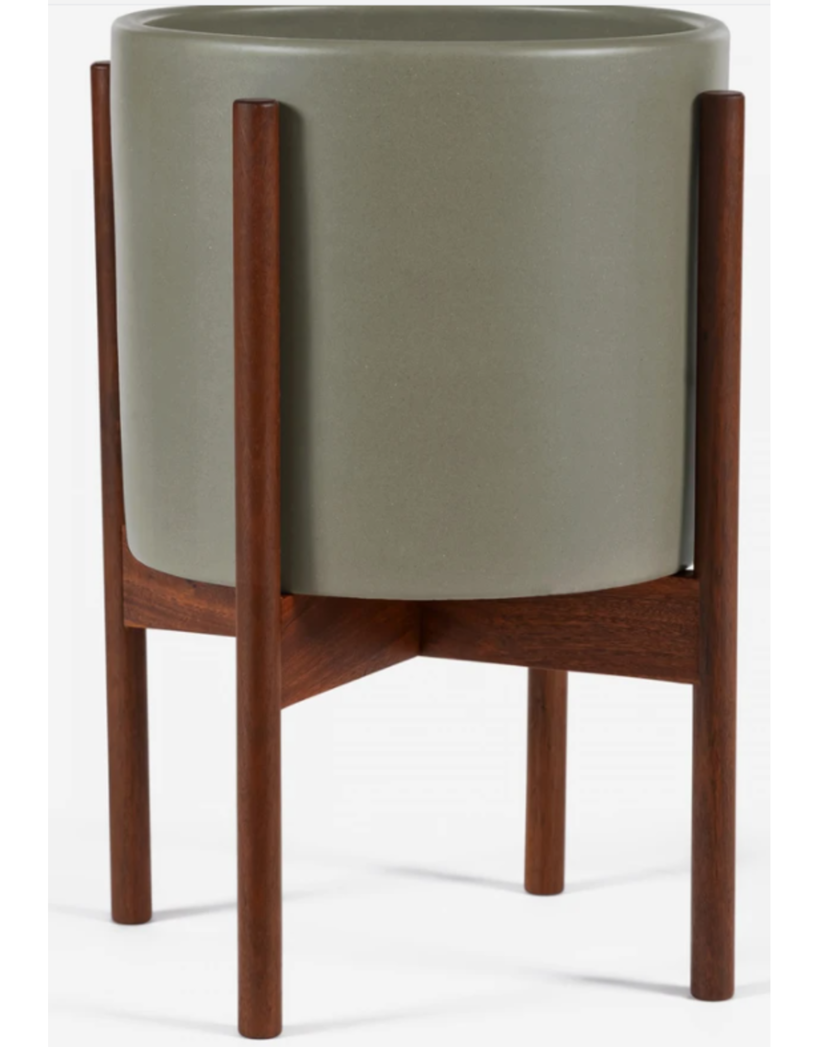 Modernica Pebble Cylinder with Wood Stand Small
