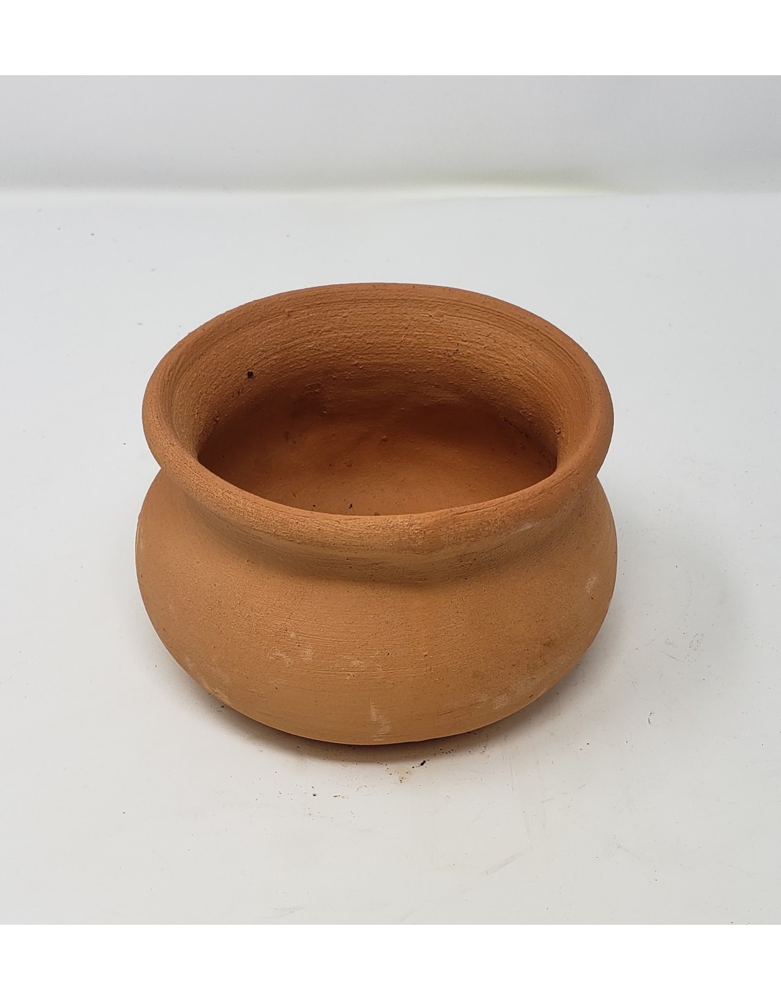 "Terra Cotta Wash Pot - Red Clay 8"""