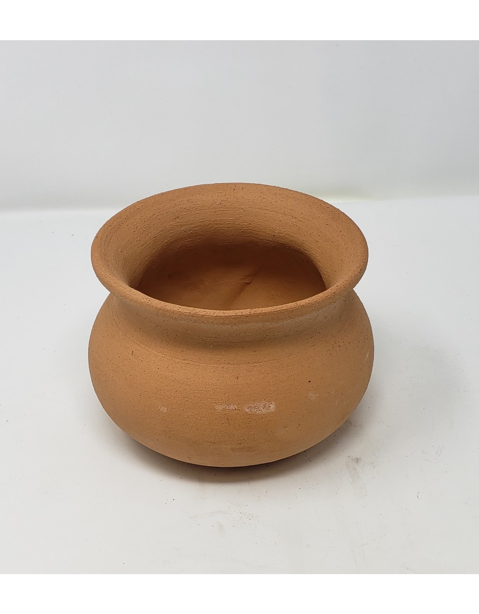 Terra Cotta Wash Pot - Red Clay 4""