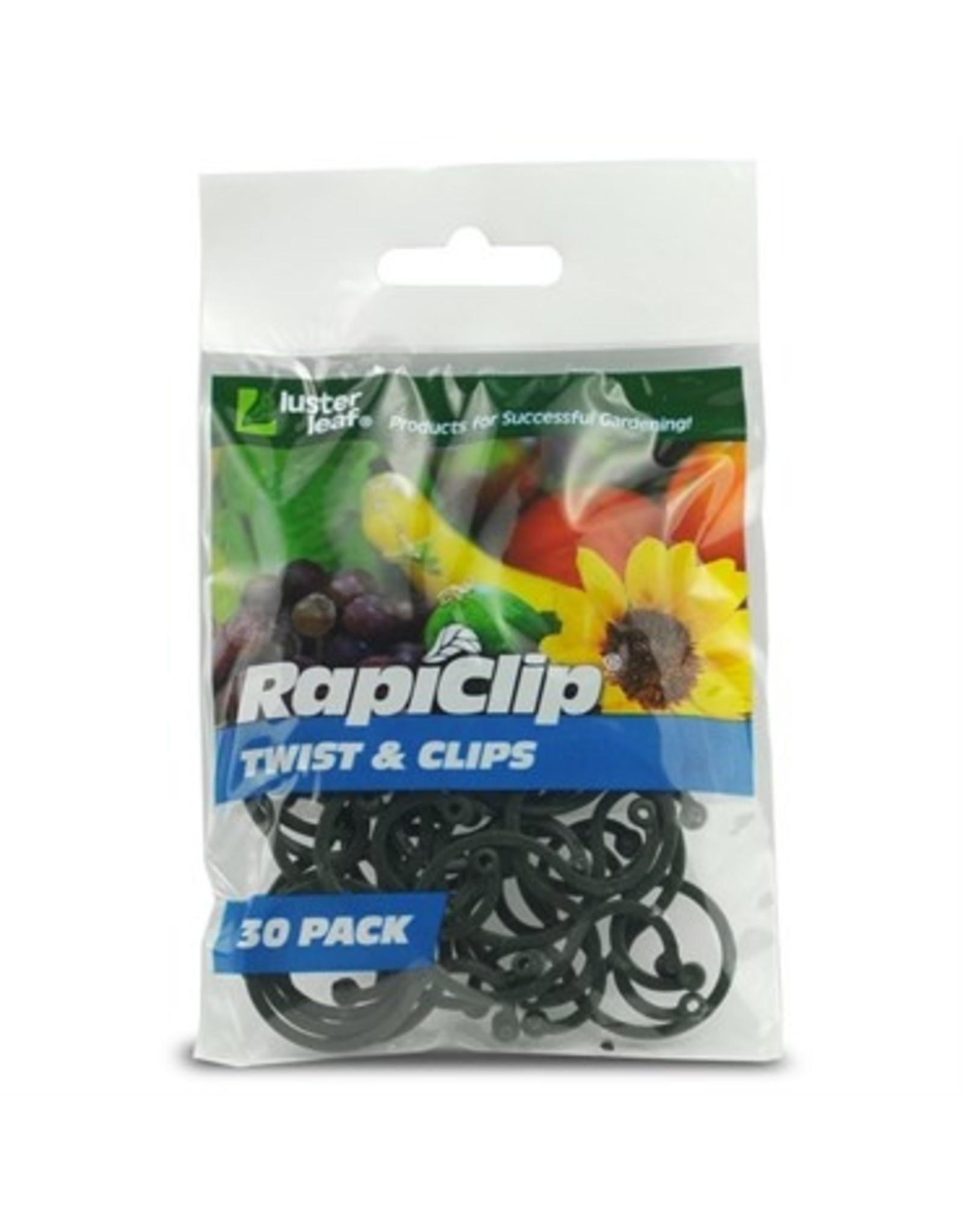 Twist & Clips - 30 pk