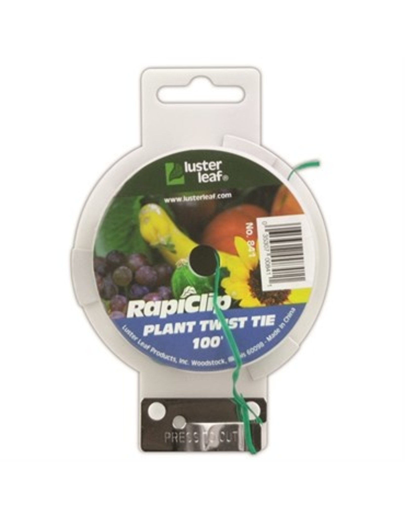 Plant Twist Tie With Cutter - 100'