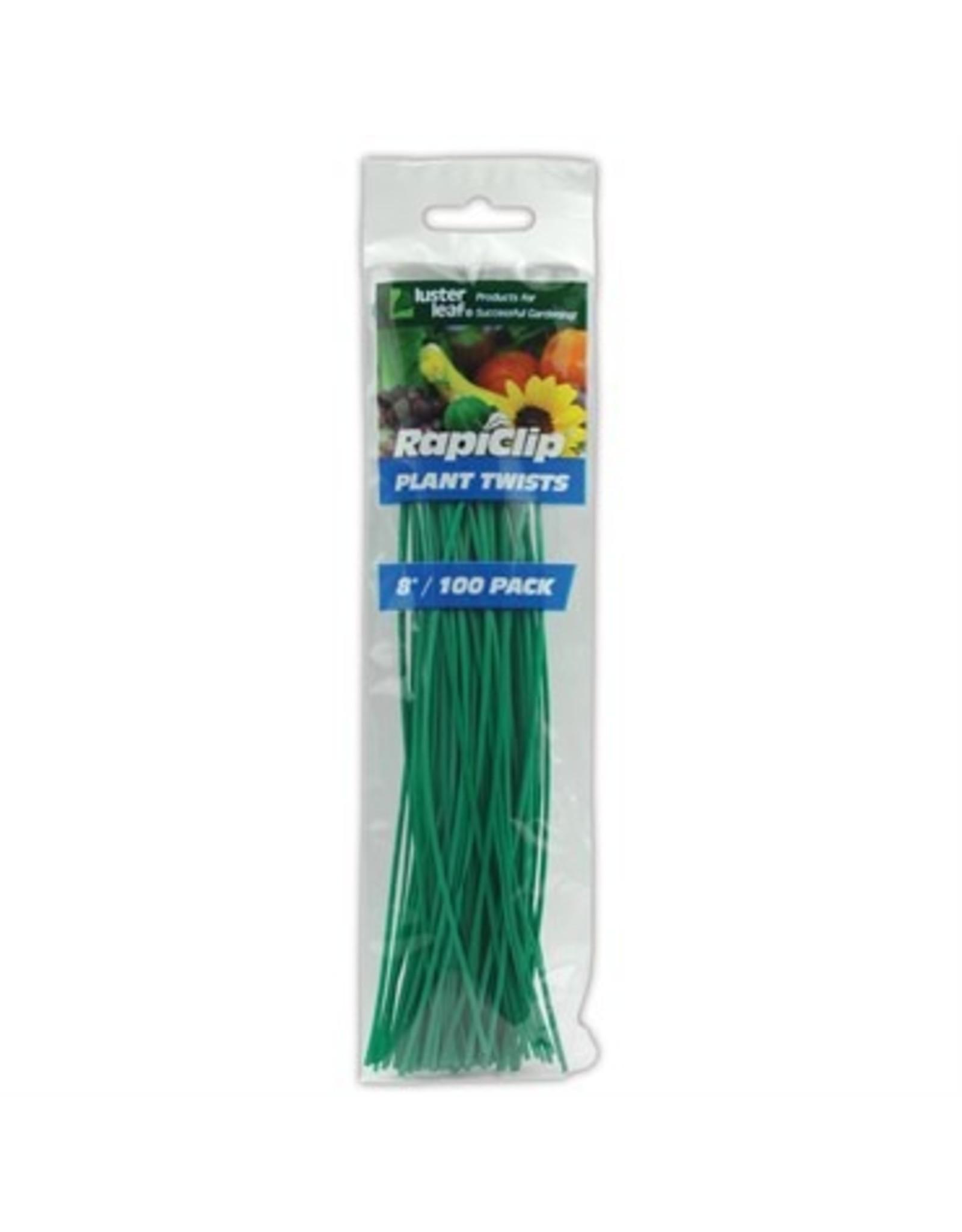 PreCut Plant Twist Ties Plastic - 100pk