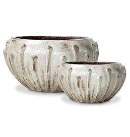 Icicle Bowl - Archeology Ivory - L