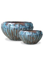 Icicle Bowl - Archeology Turquoise - L