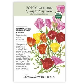 Seeds - Poppy California Spring Melody Blnd Org