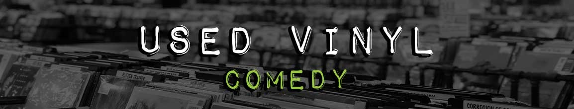 Used Comedy Vinyl Records | Darkside Records Independent Record Store, Poughkeepsie NY