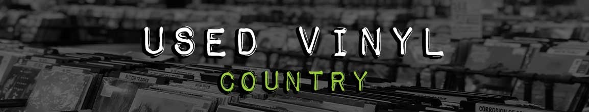 Used Country Vinyl Records | Darkside Records Independent Record Store, Poughkeepsie NY