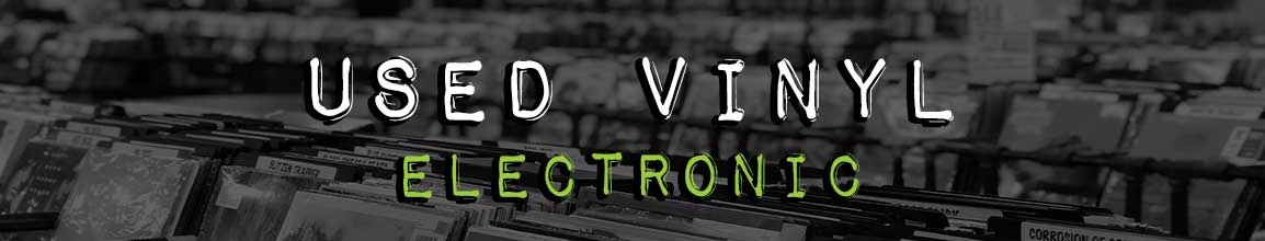 Used Electronic Vinyl Records | Darkside Records Independent Record Store, Poughkeepsie NY