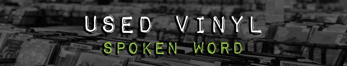 Used Spoken Word Vinyl Records | Darkside Records Independent Record Store, Poughkeepsie NY