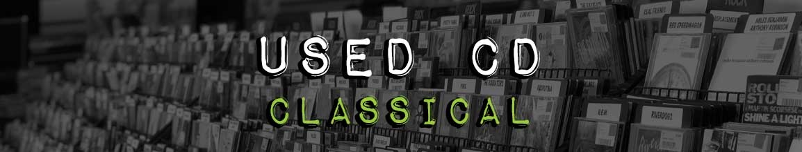 Used classical CD  | Darkside Records Independent Record Store, Poughkeepsie NY