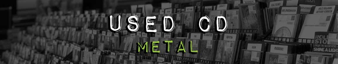 Used Metal CD | Darkside Records, Independent Record Store Poughkeepsie NY