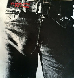 Used Vinyl Rolling Stones- Sticky Fingers