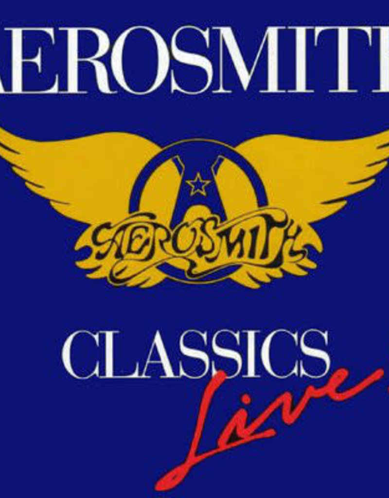 Used Vinyl Aerosmith- Classics Live (Sealed)