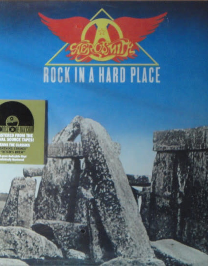 Used Vinyl Aerosmith- Rock In A Hard Place (RSD2014)(Sealed)