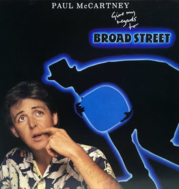 Used Vinyl Paul McCartney- Give My Regards To Broad Street