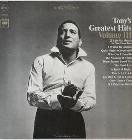 Used Vinyl Tony Bennett- Tony Bennett's Greatest Hits Vol. III