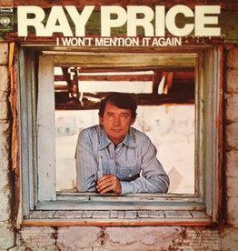 "Used Vinyl Ray Price- I Won't Mention It Again (w/ Bonus 7"")"