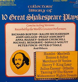Used Vinyl William Shakespeare- Collectors' Library Of 10 Great Shakespeare Plays