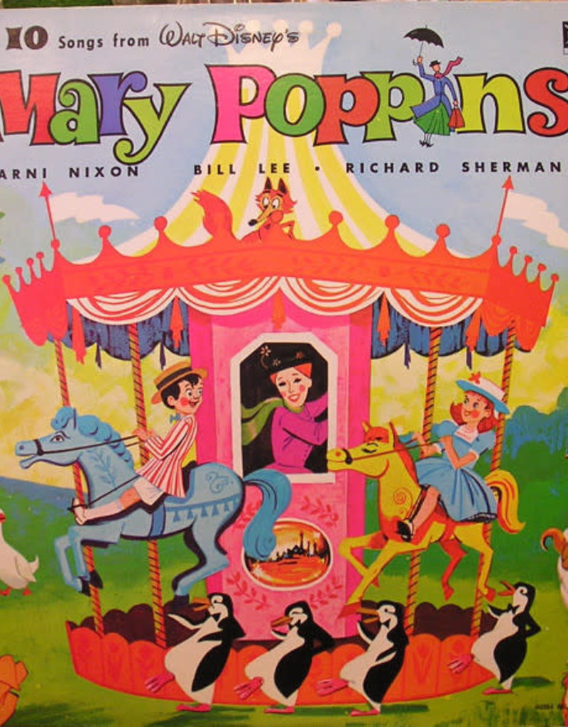 Used Vinyl 10 Sings From Mary Poppins