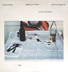 Used Vinyl Terje Rypdal/ Miroslav Vitous/ Jack DeJohnette- To Be Continued