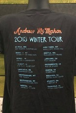 Apparel Andrew McMahon 2013 Winter Tour T-Shirt, Blk, M