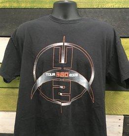 Apparel U2 2009 360 Tour T-Shirt, Blk, XL